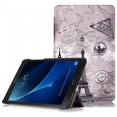 Чехол для Samsung Galaxy Tab A6 10.1 T580/T585 Paris Post